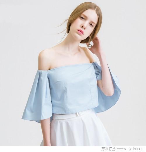 妩媚夏色,就是爱这一抹清新浅淡的蓝