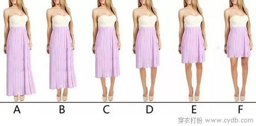 一米五秒变一米七,穿衣比例帮助你