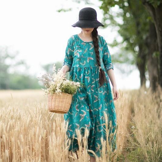 心静自然凉 裙美自然靓