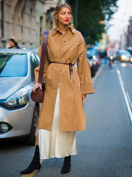 秋装外套选对不选贵,风衣优雅回归