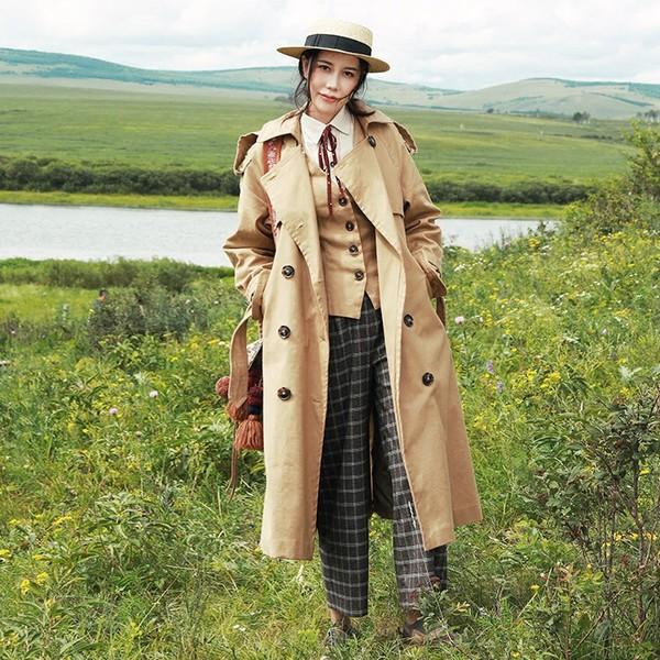 外套还是风衣好,起码颜值高啊