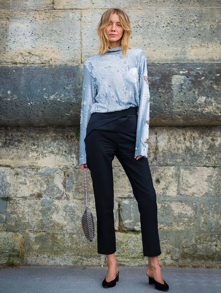 无论走什么风格,都需要万能的黑裤子