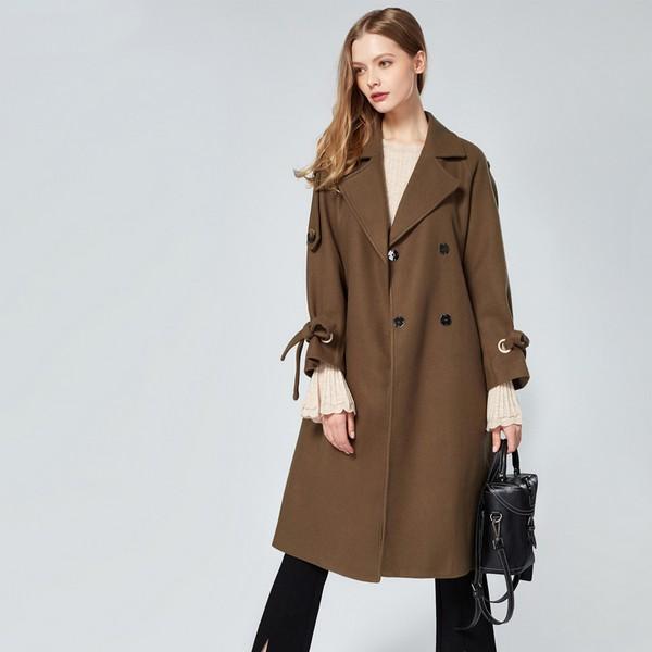 毛呢外套的选择 显瘦是第一要义