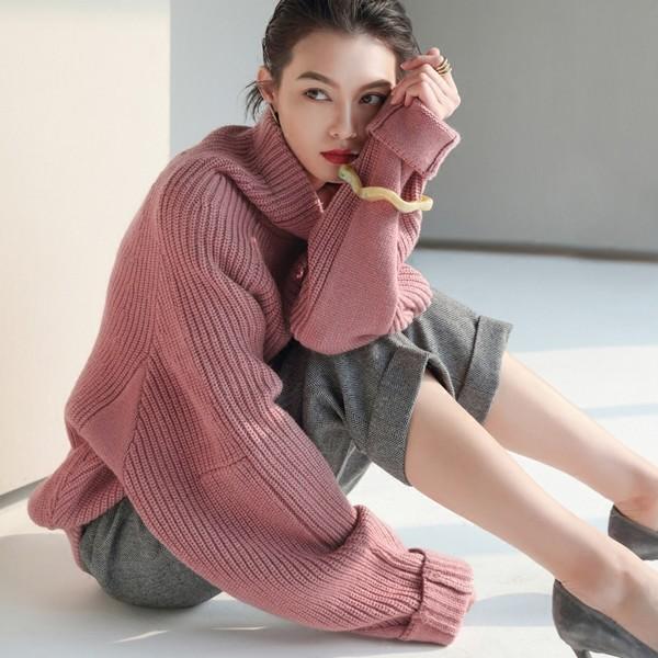 暖女美艳,毛衣新款怀旧亦新鲜