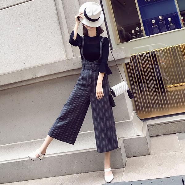 裤型改变风格 流行不分季节