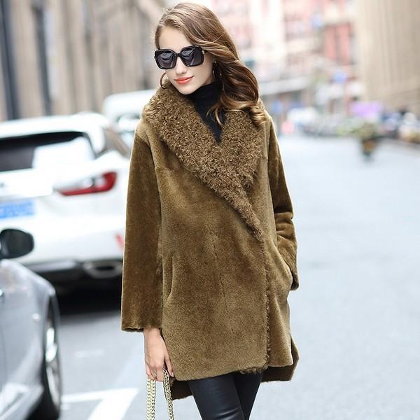 最in的时髦感 羊羔毛的冬与春