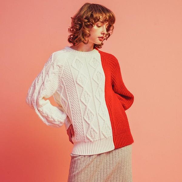 针织衫,春天最美的服装