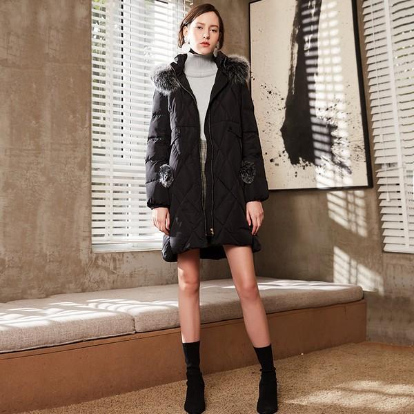 冬季养生先保暖,长款羽绒让人欲罢不能