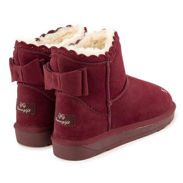 蠢萌的雪地靴才是冬天的标配