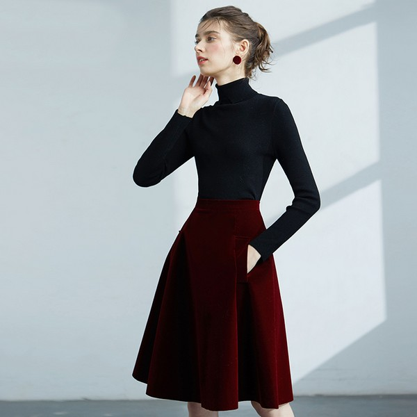 聚集时尚焦点的半身裙让新季更精彩
