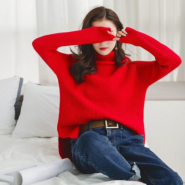 新一年的运势 从红毛衣开始