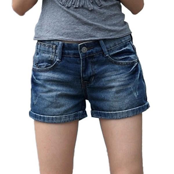 牛仔短裤解锁清凉夏日
