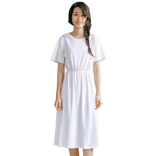 雪白少女系,翩跹连衣裙纯洁无邪
