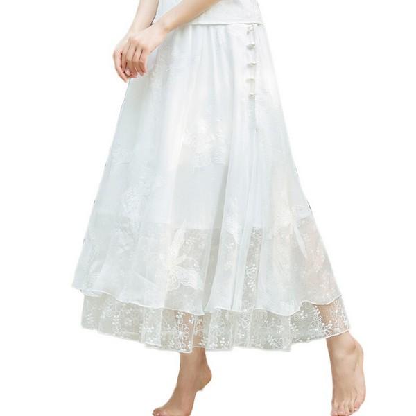 一件穿三季,纯色半身裙搭配省心