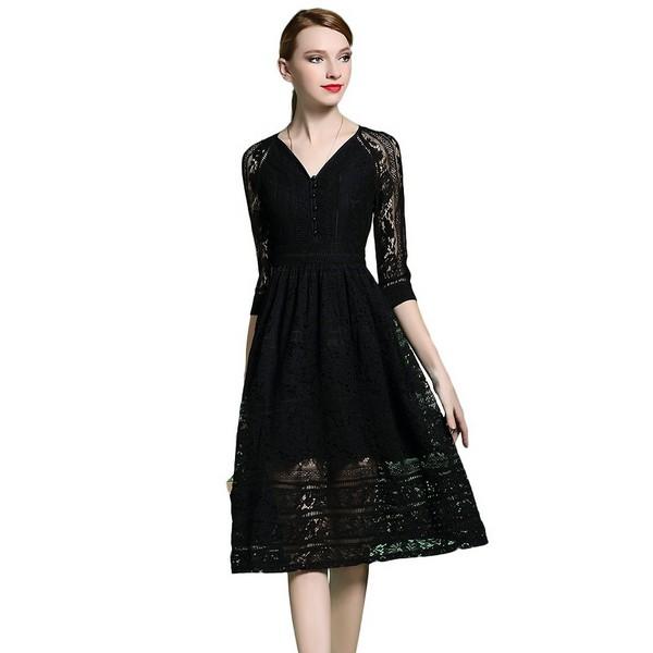 高贵不昂贵,连衣裙静赏暗黑艺术