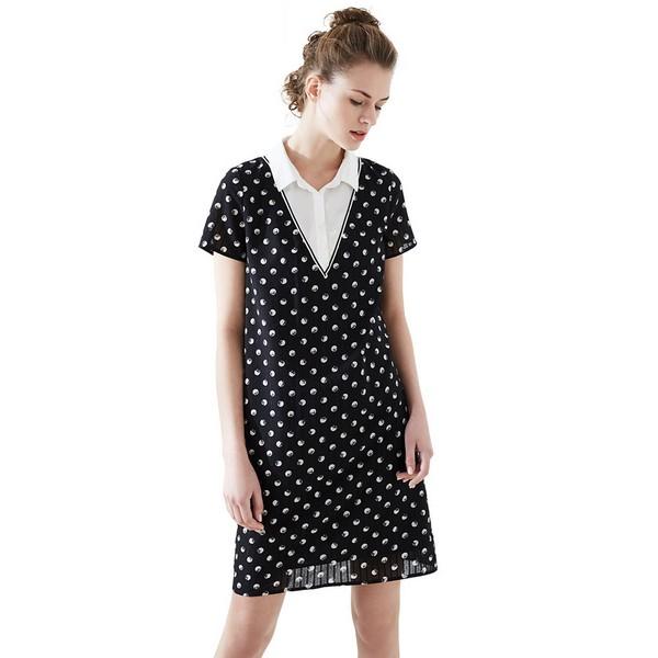 衬衫式连衣裙 不娇媚的时髦感