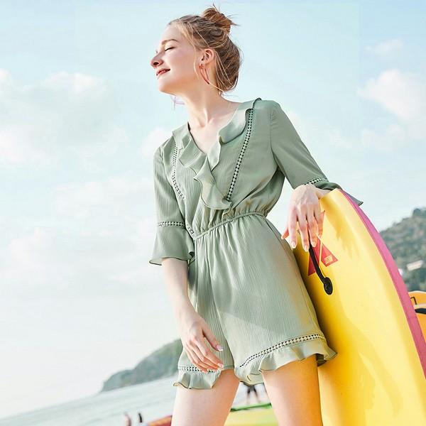 夏天最让人蜜汁喜爱的色彩:绿色系!